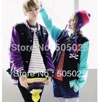 2013 Korean version of the new winter sweater obediently rabbit Mashimaro couple baseball uniform 6277 # women's sweatshirts
