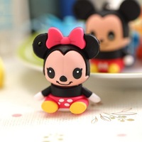 MOUSE Cartoon USB Flash Pen Drive Disk Memory Rubber 8GB 16GB 32GB 64GB Free Shipping