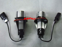 5W 1pair LED Chips white LED Marker Angel Eyes Light case for BMW E39,E53,E60,E61,E63,E64,E65,E66,E87, plug and play, no alarm