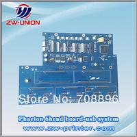 Phaeon ud-3206p/3206q/3206e solvent printer parts 6 head board (HQPTBV1.31-6)
