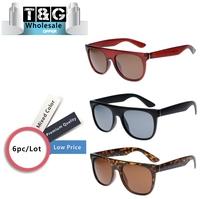 Super Retro Men Sunglasses Vintage Women Flat Top Brands Fashion Glasses Hipster Hip Pop Sunglasses Oculos Espelhado  Wholesale