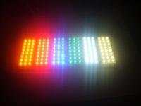 Free shipping,12V high brightness light board 24 Piranha LED light board