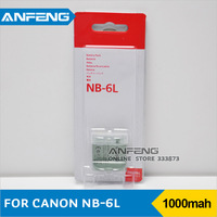 Battery NB-6LNB6L compatible for Canon IXY110 PowerShot SD980 Freeshipping
