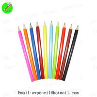 Customized 7 inch jumbor round color pencils  ,LH-224