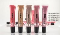Wholesale moisturizing lip gloss makeup with glitter powder 1pcs/set cosmetic makeup