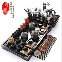 kitchen dining bar teapot tea mugs Yixing Kung fu tea electromagnetic furnace purple ceramic teaberries solid