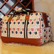 Venta caliente de gran capacidad 2014 impermeable hombro Viajes manera de las mujeres del bolso del bolso de equipaje 11 Estilos(China (Mainland))