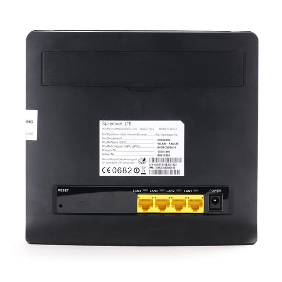 Telekom Speedport LTE Router HUAWEI B390s-2(China (Mainland))