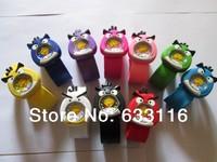 free & drop shipping 10pcs/lot wholesales new hot sales boys children students cartoon birds silicone clap sports quartz watch