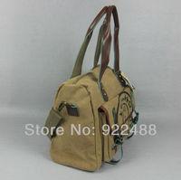 Free shippingCartoon totoro shoulder bag messenger bag canvas bag series of totoro print casual backpack
