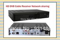 2pcs / lot Original singapore hd box dvb cable tv receiver HD Q5 PVR watch HD/SD EPL channels Timer recording