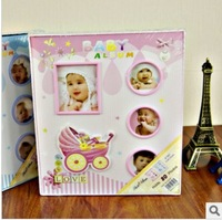 Free shipping 69 - baby photo album 6208 , parent-child child photo album with thin album photo frame photo frame gift
