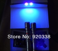 The best--405nm 3000mw/3 Watt Waterproof focusable blue purple laser pointer burning star pointer torch free shipping