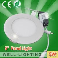 9W led panel light,newest small led light smd2835 45pcs,factory wholesale price,led lights drop ceiling,10pcs/lot