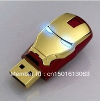Wholesale and sell perfect avenger iron man LED flash 512 gb USB flash memory drive stick 2.0 experience 256 gb USB