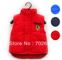 New style ,baby boy's/girl's sports waistcoat /vest ,kids winter vest/ jacket /coat ,1 pcs/lot,