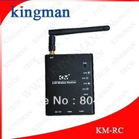 4 CH 2.4G Wireless Video Audio 2.4GHz Receiver For CCTV Camera