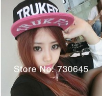 Trukfit camouflage hat BOY couples hat color the letter flat eaves Hip hop baseball cap fationNY monster hat snapback hat