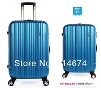 "Free Shipping !! frosted ABS+PC 28"" luggage men luggage & travel bags  airplane wheel 1 piece hot selling"