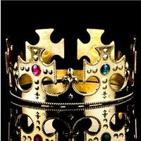 Free shipping Fashion COS  Princess royal  king  Crown headdress  Adjustable size 2colors Masquerade Holiday dress, show props