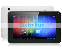 20pcs 7 Inch A13 SIM 2G GSM card phone call Allwinner A13 Android Tablet PC Bluetooth Cortex A8 Dual Camera