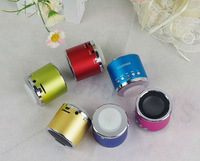Free Shipping Mobile Speaker Original KAIDAER KD-MN01 Portable Speaker 100% Cool Quality Mini Round Speaker