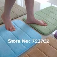 Ultra-soft memory foam bath mats 40X60cm absorbent mats doormat mat