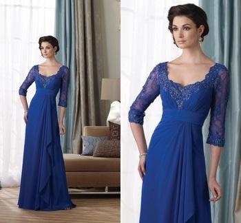 Платье для матери невесты Alisale Royal Blue custome size