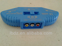 3-Port AV A/V RCA Video Game Selector Switch