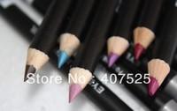 Free Shipping 1set 12 Color Cosmetics Makeup Pen Waterproof Eyebrow Eye Liner Lip Eyeliner Pencil(60pcs/lot)