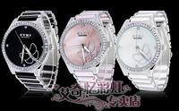 EYKI new waches Ladies wach fashion wach ceramic watchband pearl sallei fashion table rhinestone