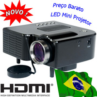 HDMI Mini Projector LED lamp portable projetor USB SD VGA AV videoprojecteur handheld for PC laptop phone home used proiettore