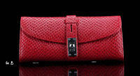 2013New Style  Crocodile Genuine Leathe Wallet  Long Designer  Wallet  For Women Purses Free Shipping BZP619