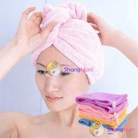 Free shipping: Ladys Magic Hair Drying Towel/Hat/Cap Quick Dry Bath wholesale