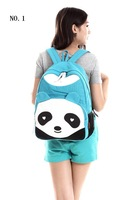 Lovely panda Students bag     backpacks in style of korea