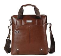 2014 new genuine leather men messenger bag/business handbag/shoulder bag briefcases Top quality
