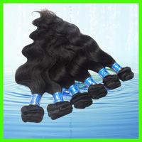 Cheap Brazilian Hair Weaving, Body Wave, Mix Length 12~28inch 6pcs/lot DHL Free Shipping
