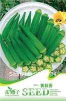 Free Shipping Vegetable seeds okra seeds home garden diy