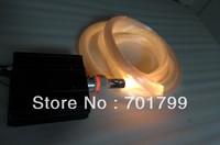 45W IR RGB led fiber engine+1200pcs 0.75mm diamter 4m long PS optical fiber