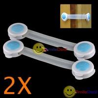 Free shipping: 2 Cupboard Drawers Fridge Baby Child Safe Lock Band #3 wholesale