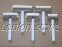 5,6,7,8,10cm(5PCS/lot)white roller for iphone for samsung for ipad mini / for lenovo / Tablet PC lcd screen film wheel refurbish
