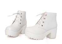 New 2014 spring & autumn vintage anti-slip women motorcycle boots,martin boot for woman,women's shoes,WB106