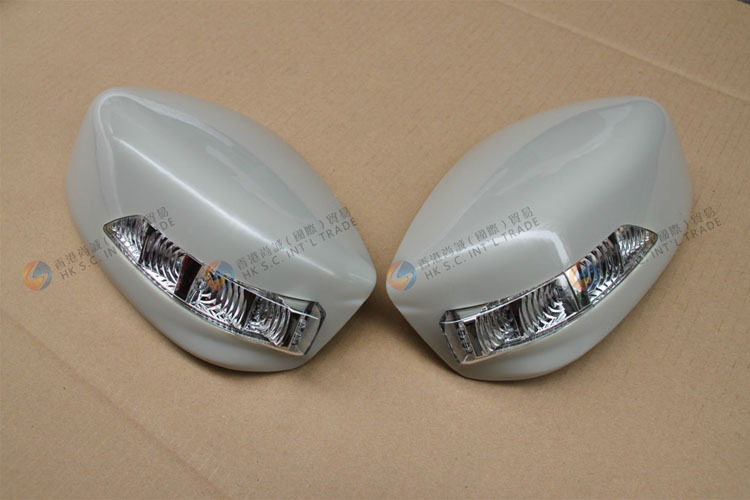 LED Car Side Mirror Cover For Honda Accord 2008 with Turn Signal LED Lights Made in Taiwan Replacem
