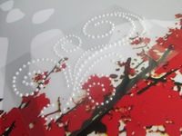 Rhinestone Flowers Stickers Decorative  Stickers clear Color Self-adhesive  Pearl stickers For Scrapbook Stickers  Free Shipping