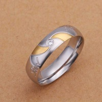 Free Shipping!Wholesale 925 Silver Ring,925 Silver Fashion Jewelry,Fashion Men's Ring SMTR227