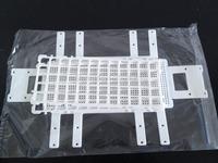 Test Tube Rack Plastic Lab  Medical 20mmx40 White-Pack 2