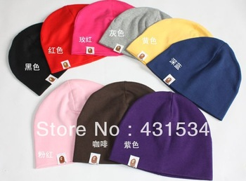 1piece/lot, 9piece/lot available baby hat baby cap infant cap Cotton Infant Hats Skull Caps Toddler Boys & Girls gift