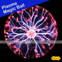 Wholesale Plasma Ball Sphere Lightning Lamp Free Shipping