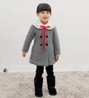 Free shipping!2013 New arrive fashion the winter girls long coat,kids children warm cotton padded coat(retail)