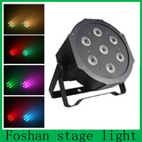 Retail! 7*10w  High Power RGBW LEDPar Stage Light Wedd Lighting DJ Lighting DMX512 Master-Slave Stand-Alone   Free Shipping